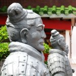 Chinese Warriors:   The Terracotta Army is...