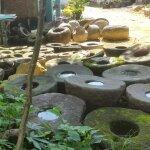 Dekorationsartikel aus Stein sind...