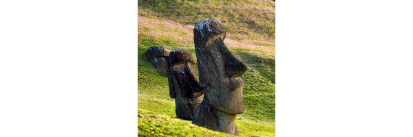 moai, easter island head