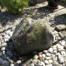 Outdoor boulder fountain, natural rock fountian, 50-60 cm, out of riverstone