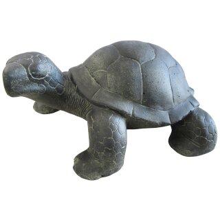 Land turtle, various sizes 23  - 60 cm, black antique