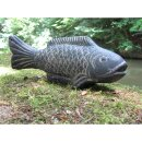 Fish, various sizes L 26 - 60 cm, black antique