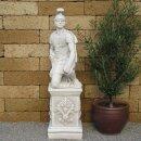 """Steinfigur """"Zenturio"""" mit Sockel, H 96 cm"""