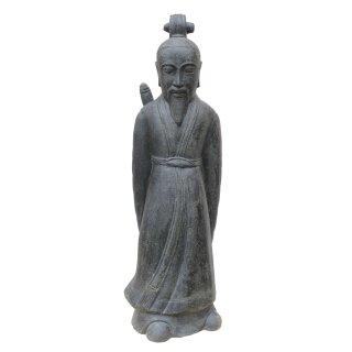 Japanese Samurai, various sizes H 120 - 160 cm, black antique