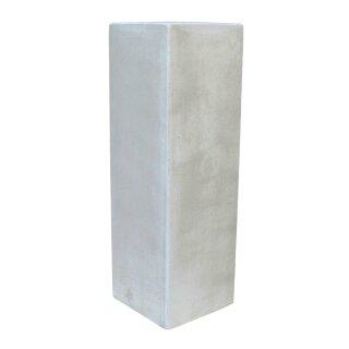 "Sockel ""Giove"", H 80 cm, weiß antik"