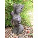 Dewi Sita torso, various sizes H 30 - 60 cm, black antique