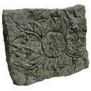 """Relief """"blossoms"""" / step stone, L 60 cm, hand..."""