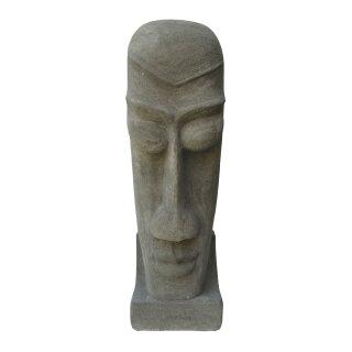 Topeng-Kopf, verschiedene Größen H 80 - 100 cm, in Betonoptik