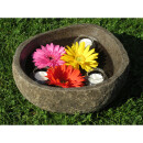 Stone bowl, small pond, various sizes, XS Ø 20 -...