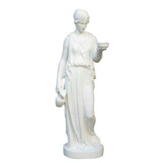 """Steinfigur """"Hebe"""", Göttin der Jugend, H 100 cm, weiß"""