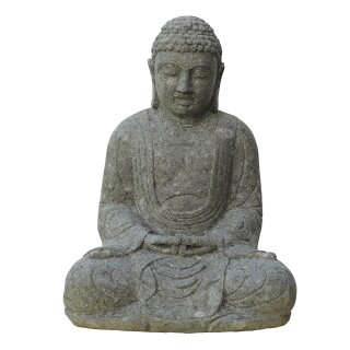 "Sitting Buddha ""Japan"", various sizes 50 - 120 cm, hand carved from basanite"