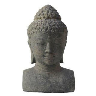 Buddha-bust, H 30 cm